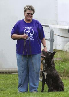 Snap successfully competed in the 2011 Dog Sports Open...