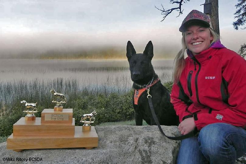 British Columbia Search Dog Association 2014 TOP DOG