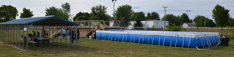 Dock Jumping Pool at Cher Car Kennels